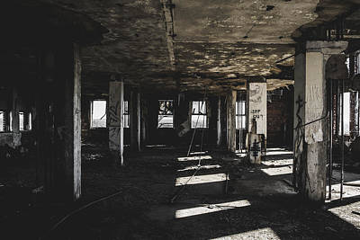 Photograph - Abandoned Building by Dylan Murphy