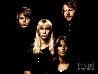 Abba Mixed Media - Abba Collection by Marvin Blaine