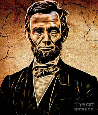 Abraham Lincoln Mixed Media - Abraham Lincoln Collection by Marvin Blaine