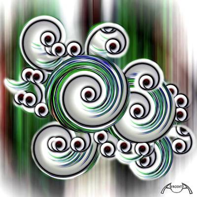 Digital Art - Abstract by Afrodita Ellerman