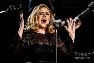 Adele Collection Art Print by Marvin Blaine