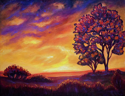 Painting - After Sunset by Lilia D