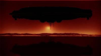 Invasion Digital Art - Alien Invasion By Raphael Terra by Raphael Terra
