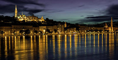 Photograph - An Evening In Budapest by Pixabay