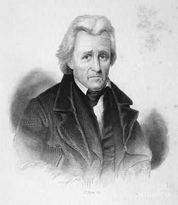 Autographed Photograph - Andrew Jackson (1767-1845) by Granger
