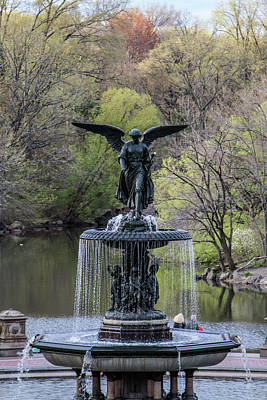 Photograph - Angel Of The Waters  by Robert J Caputo