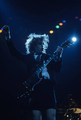 Photograph - Angus Young by Rich Fuscia