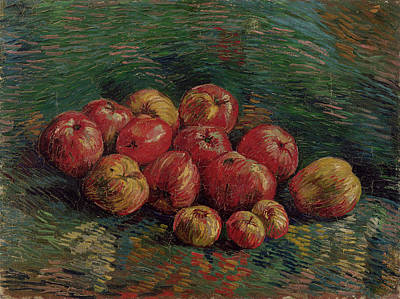 Blueberry Painting - Apples by Vincent van Gogh