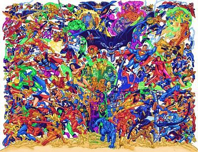 Art Avengers Art Print by Egor Vysockiy