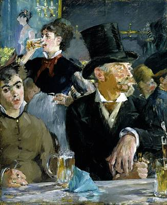 Painting - At The Cafe by Edouard Manet