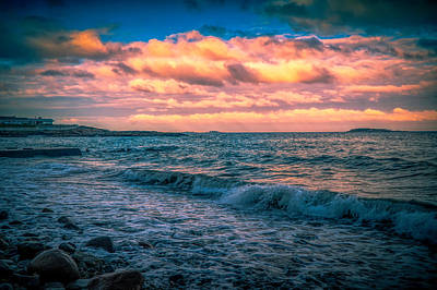 Photograph - Atlantic Sunset by Lilia D