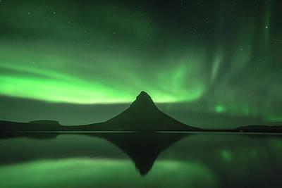 Photograph - Aurora Borealis by Frodi Brinks