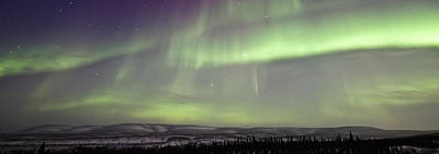 Tourist Industry Photograph - Aurora Borealis Or Northern Lights by Robert Postma
