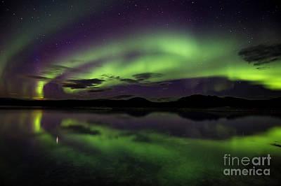 Photograph - Aurora Borealis Over Iceland by Gunnar Orn Arnason