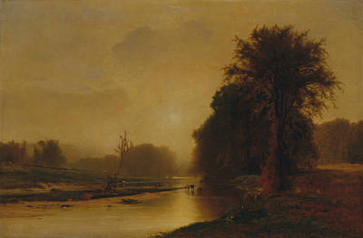 Painting - Autumn Meadows by George Inness
