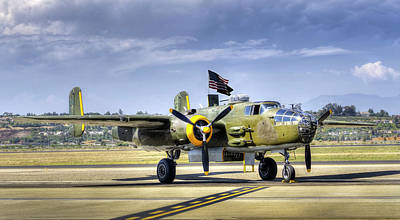 Photograph - B-25 Bomber by Joe  Palermo