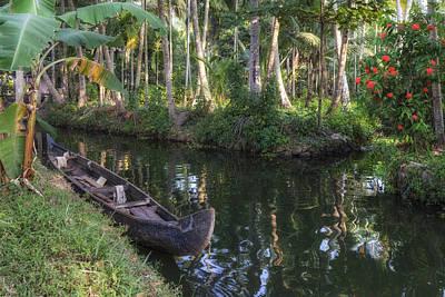 Kerala Photograph - Backwaters Kerala - India by Joana Kruse