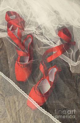 Ballet Shoes Art Print by Svetlana Sewell