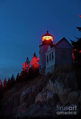 Bass Harbor Lighthouse Photograph - Bass Harbor Lighthouse by John Greim