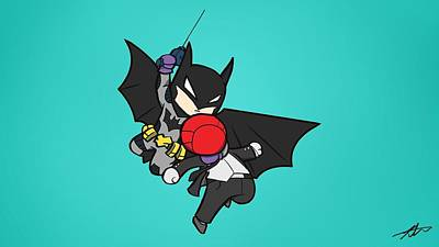 Design Digital Art - Batman by Maye Loeser