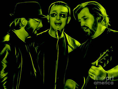 Bee Gees Collection Art Print