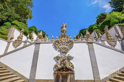 Photograph - Bom Jesus Staircase by Benny Marty