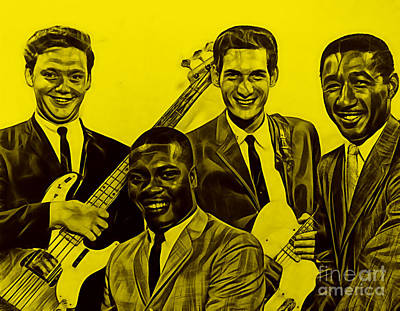 Booker T. And The M.g's Art Print