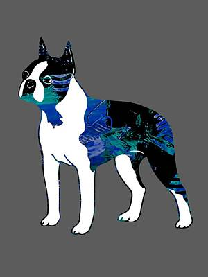 Boston Terrier Collection Art Print
