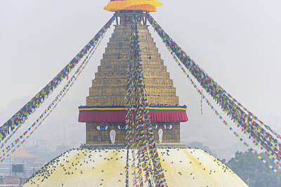 Photograph - Boudhanath Stupa In Kathmandu by Dutourdumonde Photography