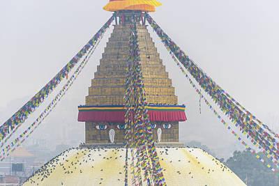 Photograph - Boudhanath Stupa In Kathmandu by Dutourdumonde Photography