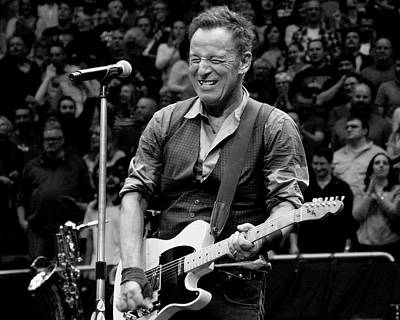 Photograph - Bruce Springsteen by Jeff Ross