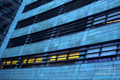 Photograph - Building Abstract by Jim Corwin