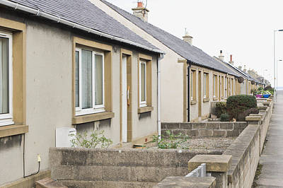 Old Neighbourhood Photograph - Bungalows by Tom Gowanlock