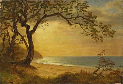Painting - California Coast by Albert Bierstadt