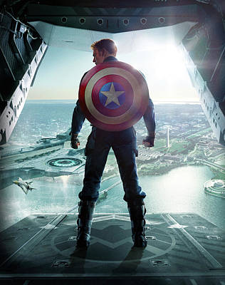 Superstar Digital Art - Captain America The First Avenger 2011 by Unknown