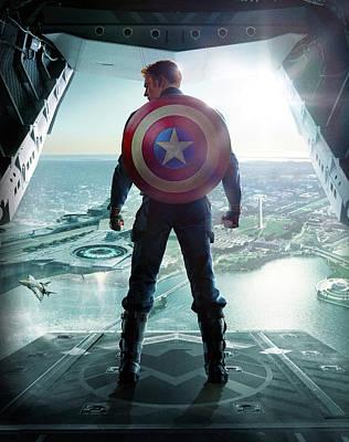 Captain America The First Avenger 2011 Art Print