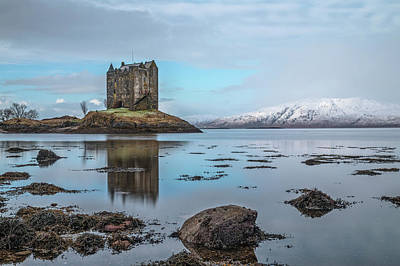 Photograph - Castle Stalker - Scotland by Joana Kruse