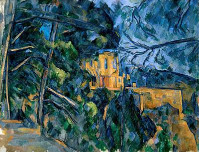 Castle Painting - Chateau Noir by Paul Cezanne