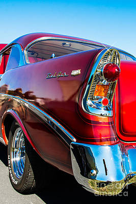Photograph - 56 Chevy Bel Air by Anthony Sacco