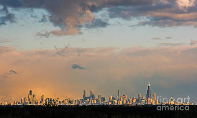 Photograph - Chicago by Jim West
