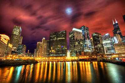 City Scenes Digital Art - Chicago by Super Lovely