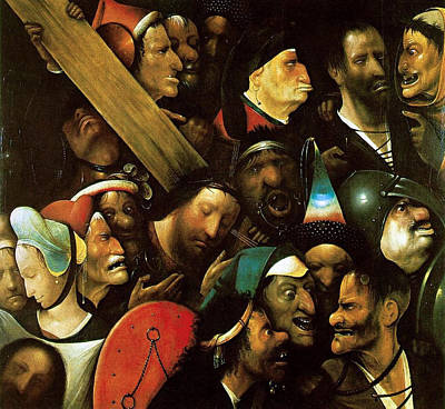 Christ Carrying The Cross Art Print by Hieronymus Bosch