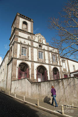 Church In Ponta Delgada Art Print