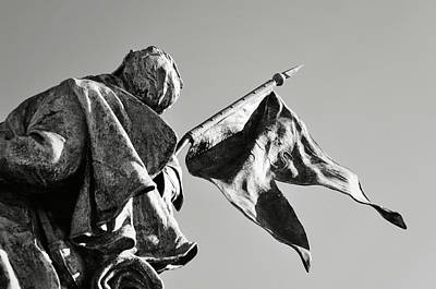 Photograph - Civil War Statue In Washington Dc by Brandon Bourdages