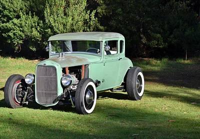 Photograph - Classic Ford Hotrod by Dean Ferreira