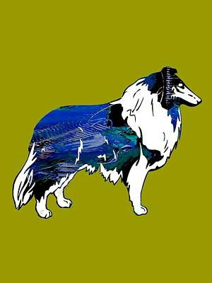Collie Collection Art Print by Marvin Blaine