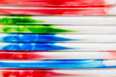 Colorful Plastic Art Print