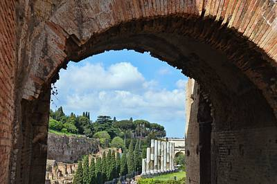 Photograph - Vista Colosseo by JAMART Photography