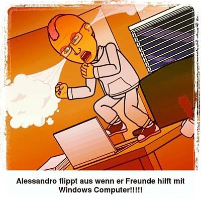 Comics Photograph - Comic Of The Day. #bitstrip #comic by Alessandro  Lo Monaco