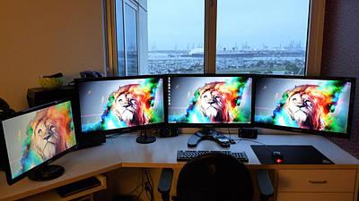 Artwork Digital Art - Computer by Super Lovely